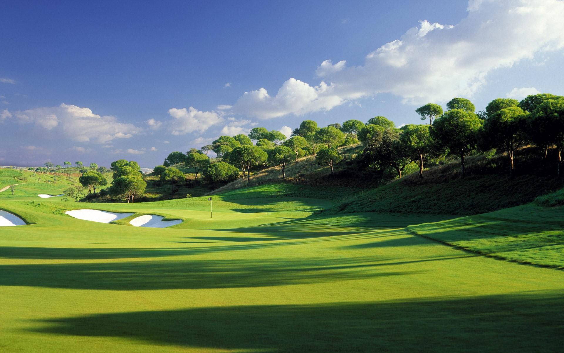 Golf flyer background