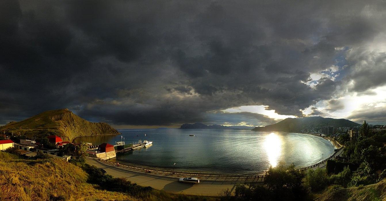 Один из экологически чистых климатических курортов западного берега крым - поповка